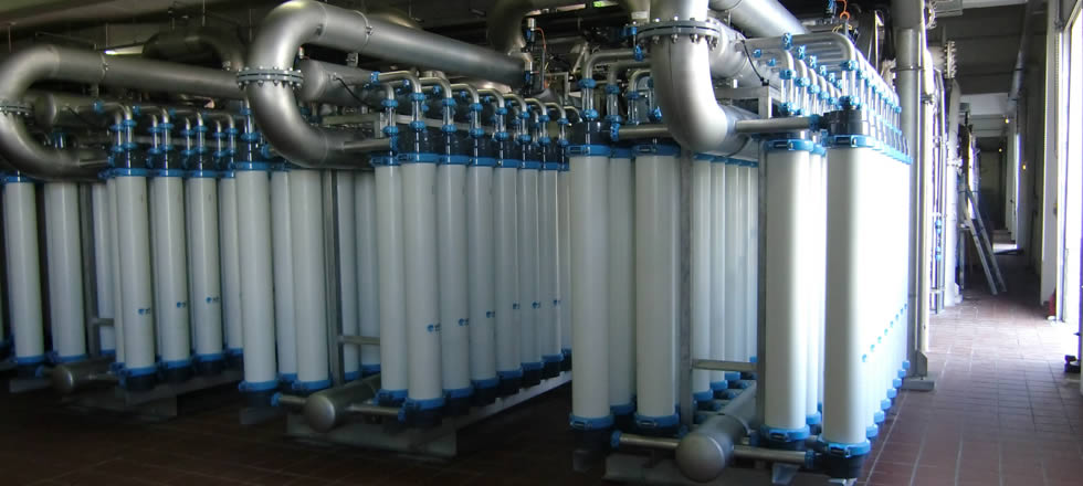 Pentair X-Flow potable water production with Aquaflex 55